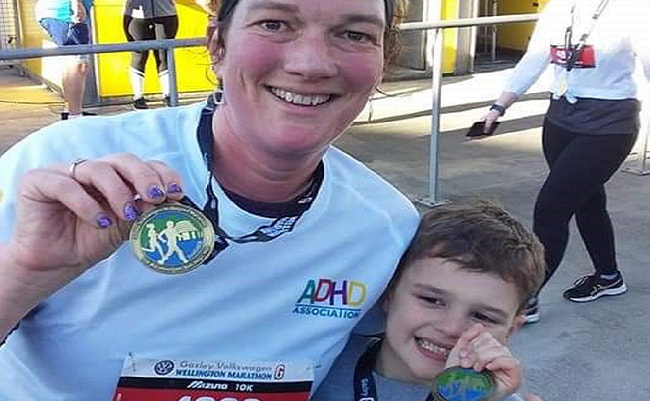 Congratulations to ADHD's marathon fundraisers